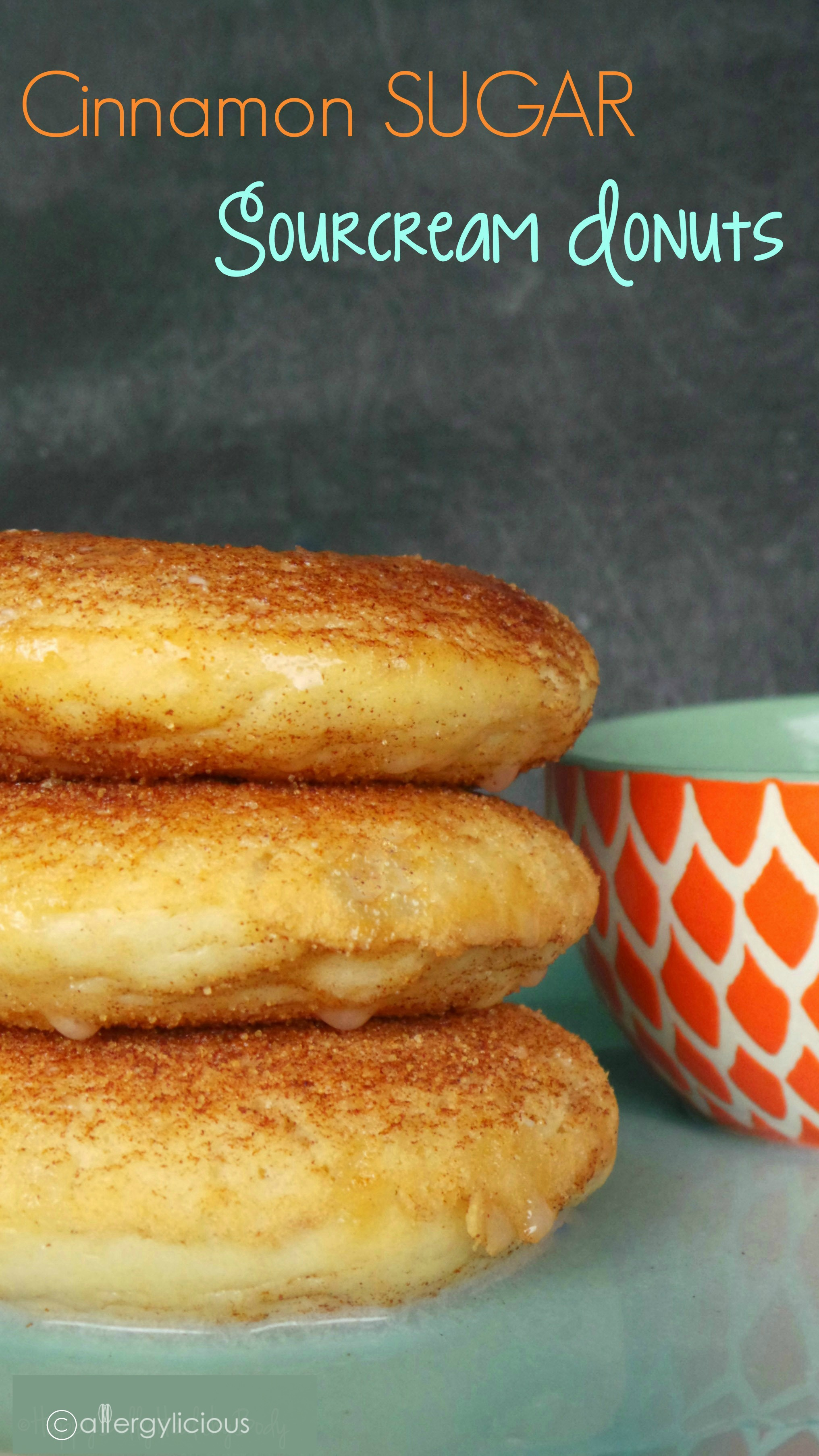 Easy, delicious, bakery-style cinnamon sugar donuts. Vegan & allergy-friendly