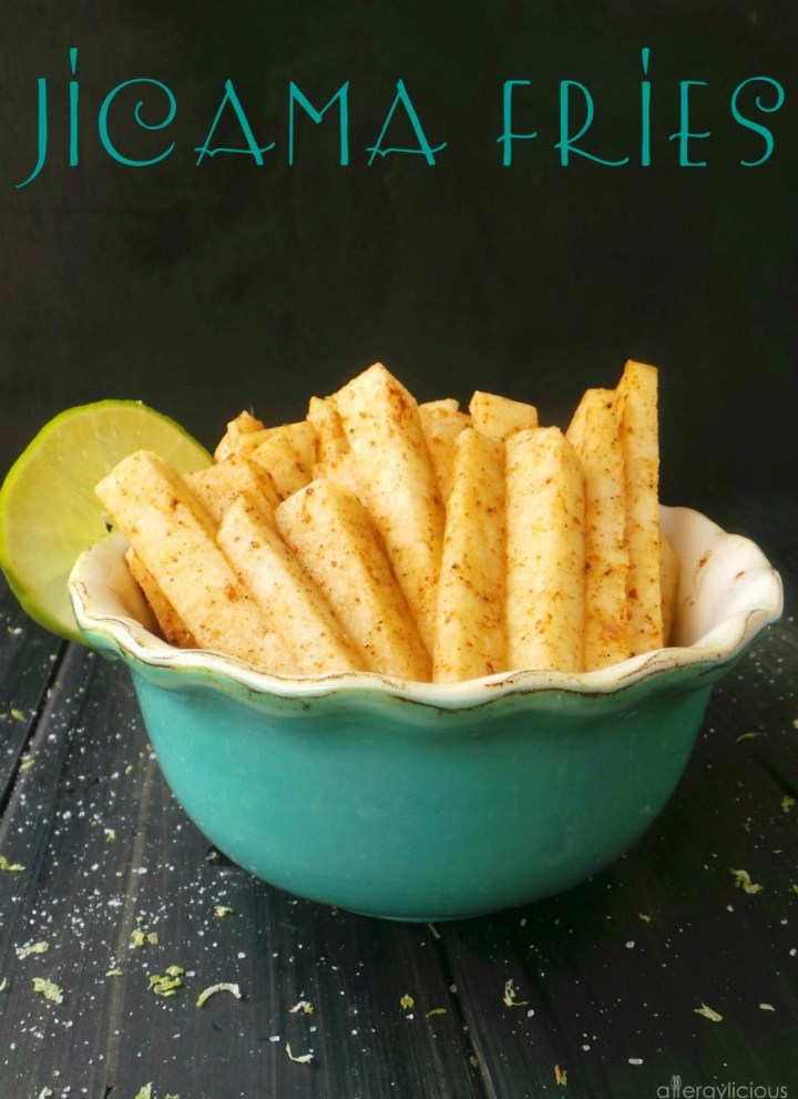 Jicama Fries with a Kick