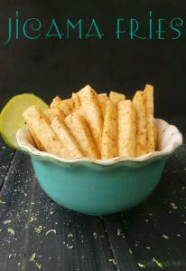 Raw and crisp, spicy and tangy, nutrient packed snack.