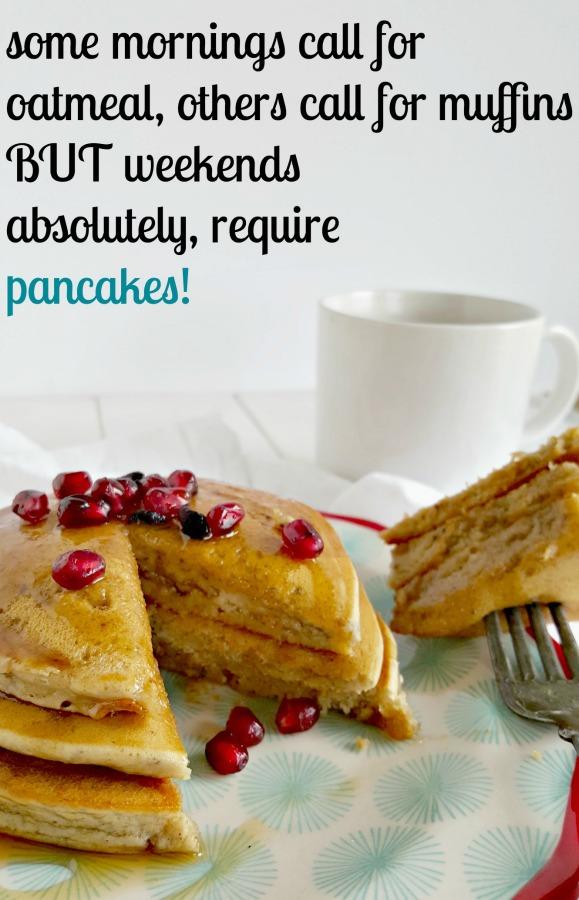 Fluffy Blender Pancakes