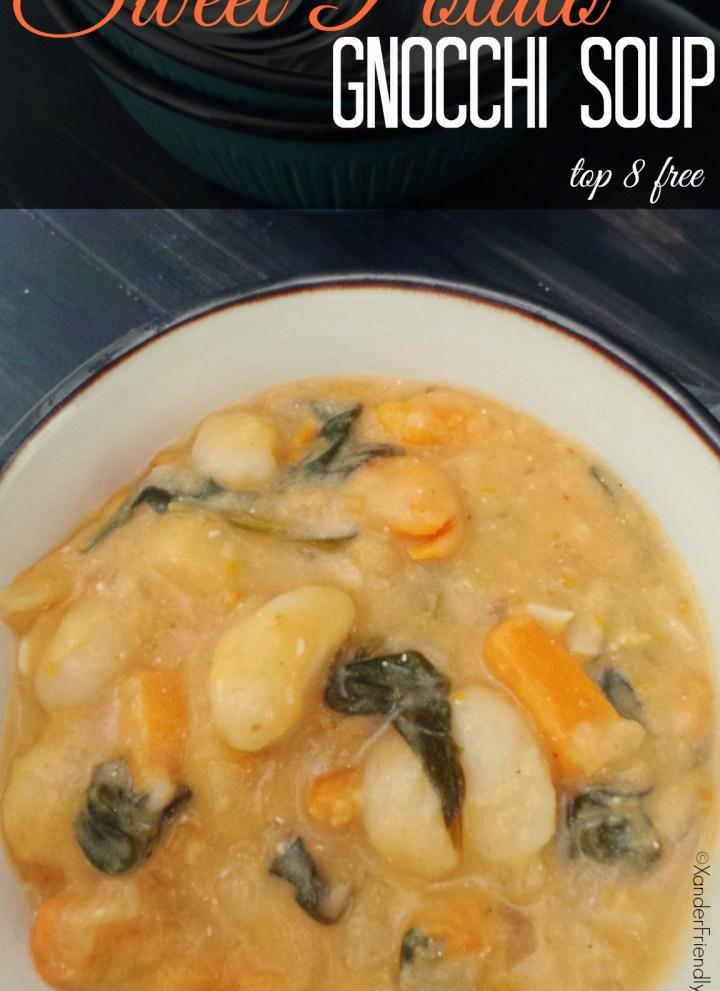 Sweet Potato & Gnocchi Soup