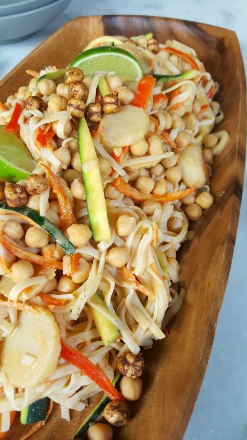Delicious, vegan pad thai