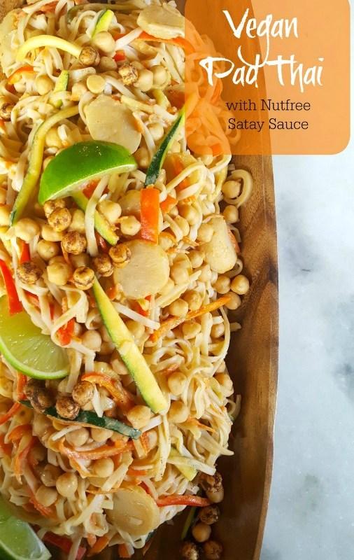 Delicious Vegan Pad Thai