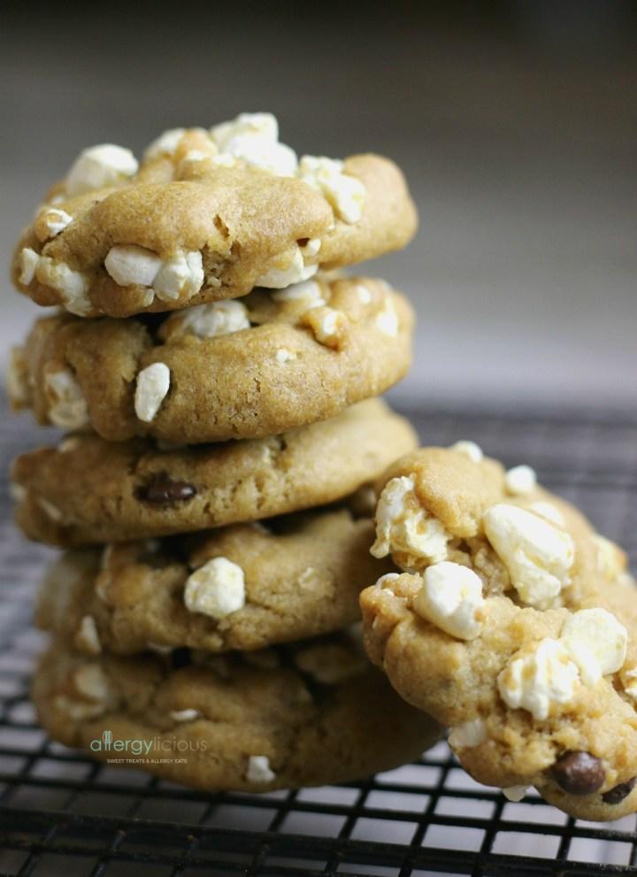 Theatre Cookies (Chocolate Chip Popcorn Cookies)