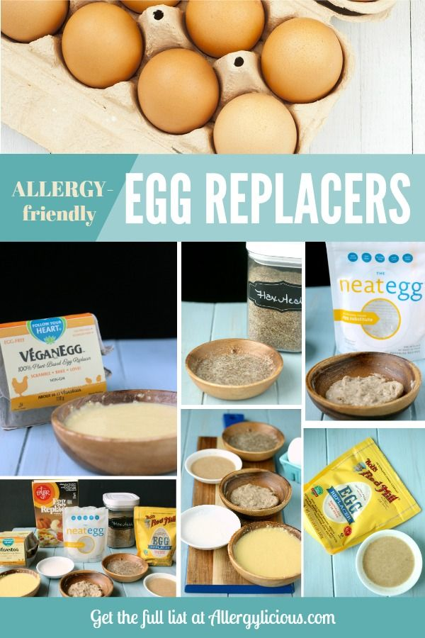 Allergy-friendly guide to egg replacers & egg-free baking