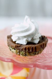 Homemade Chocolate Pudding Pie won't disappoint chocolate lovers! It is rich, smooth, creamy and made from scratch with a delicious seed based crust, then topped with CocoWhip.