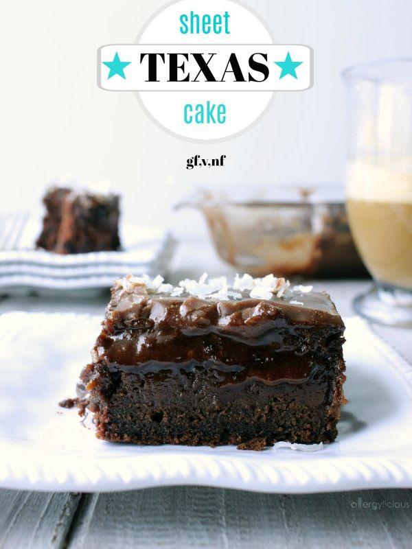 Deliciously moist, fudgy & chocolaty Texas style sheet cake