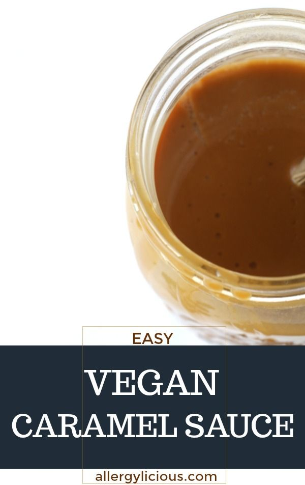 Easy Vegan Caramel {nut-free, gluten-free too}