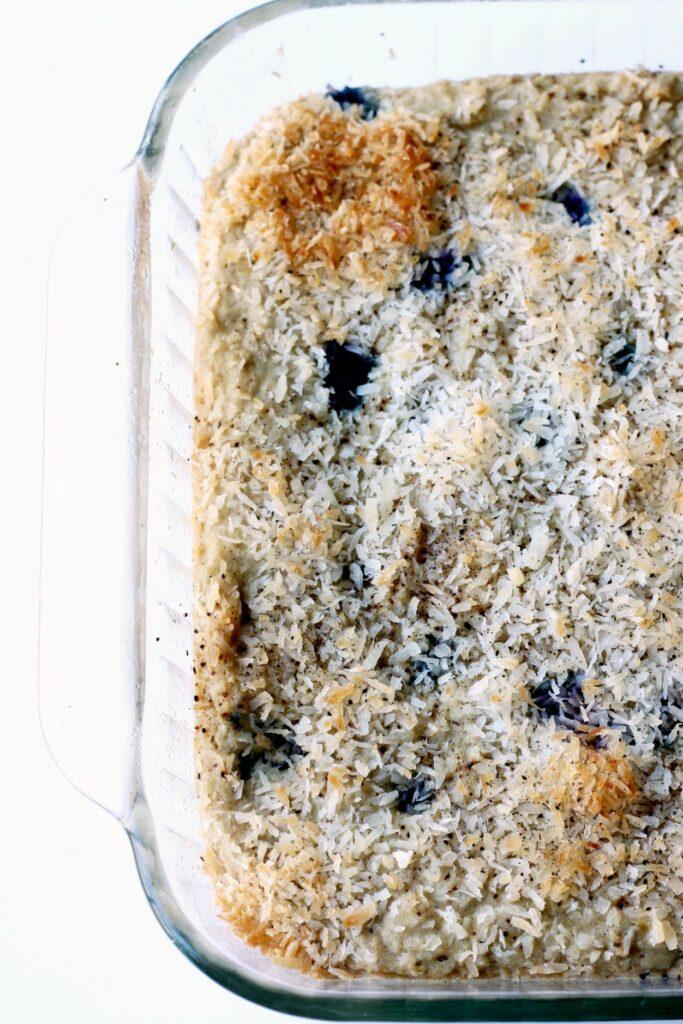 Blueberry Lemon Snack Cake