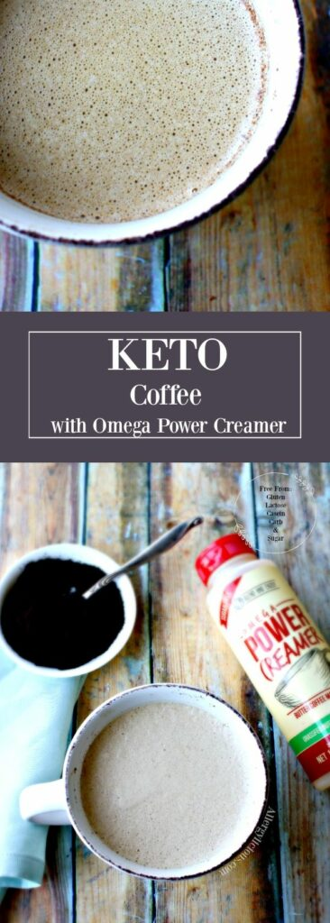 Make your own creamy, keto coffee, full of healthy fats with easy-to-use Omega Power Creamer. Free from : Gluten, Lactose, Casein, Sugar & Carbs.