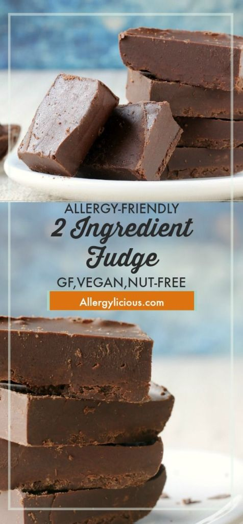 This easy 2 ingredient chocolate fudge is smooth, creamy, and extra chocolatey. All you need is one bowl, 2 ingredients, and a microwave!