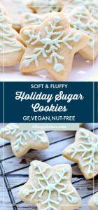 Soft & fluffy vegan sugar cookies