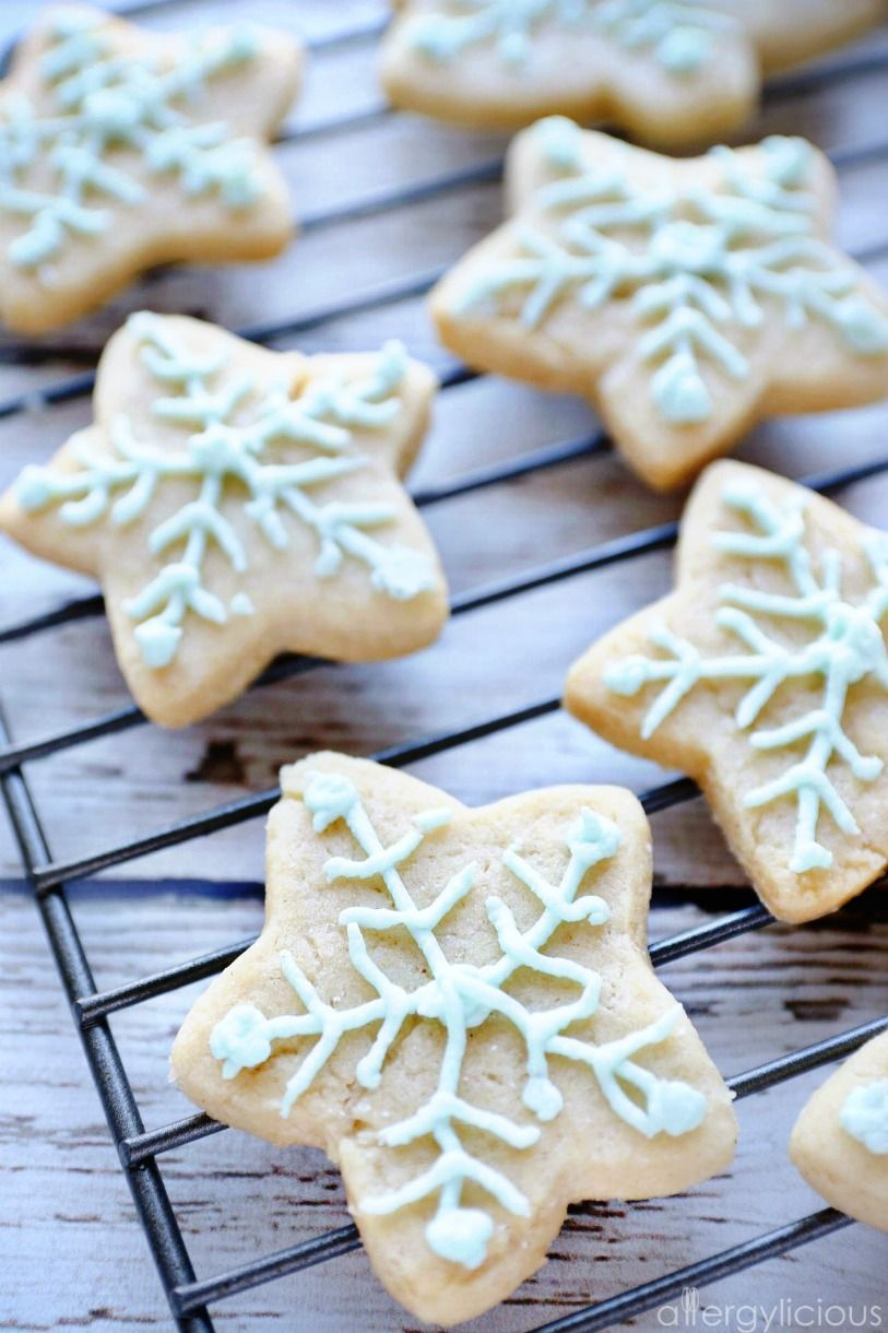 Soft & fluffy vegan cut-out sugar cookies