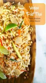 Zesty, amazing nut-free Pad Thai