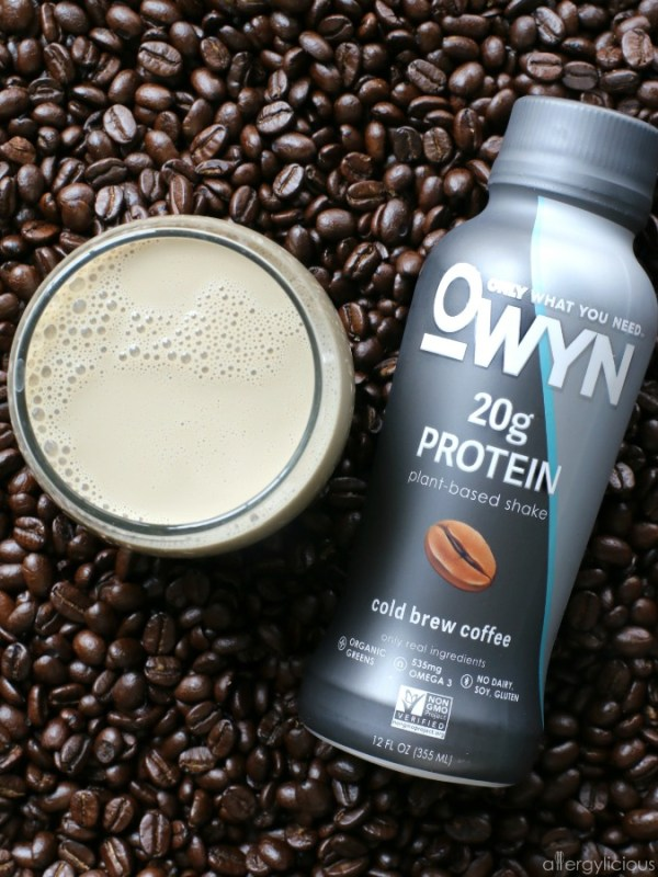 Plant-based, allergen-free Cold Brew Coffee Protein by OWYN