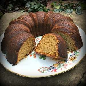 Vegan Orange Bundt Cake