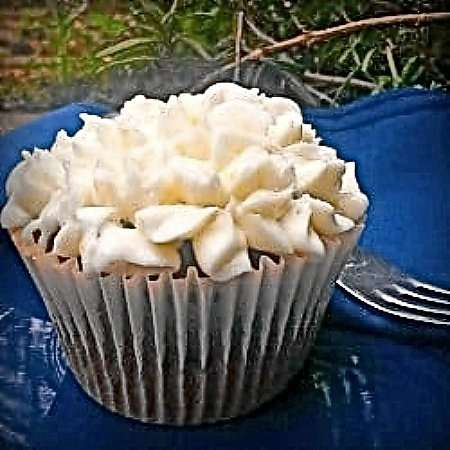 Vegan Crystallised Ginger Cupcakes
