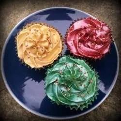 Gluten Free, Vegan Cinnamon Cupcakes