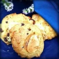 Vegan Marshmallow and Chocolate Cookies