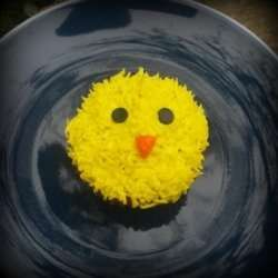 Easy Easter Chick Cupcake Decorating