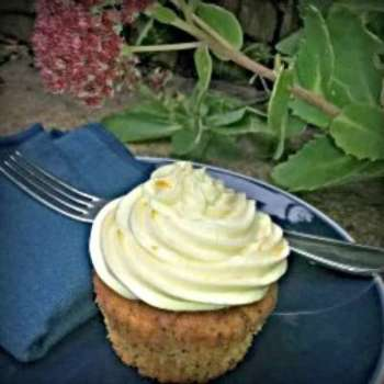 Dairy and Egg Free Orange Poppy Seed Cupcakes