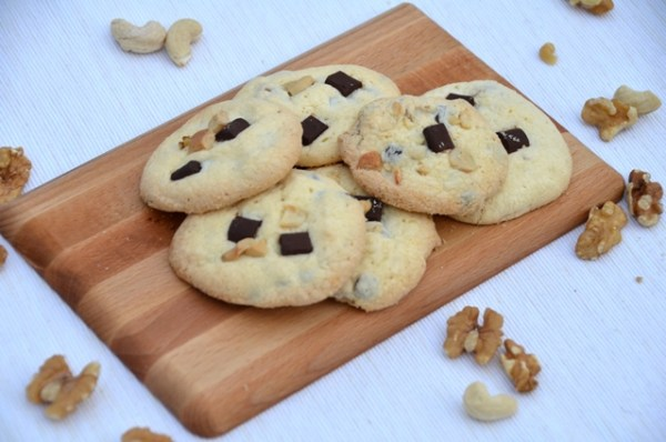 Glutenfreie Chocolate Chips Cooklies - Schokoladenkekse