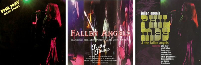 Phil May Amp The Fallen Angels Same 1978