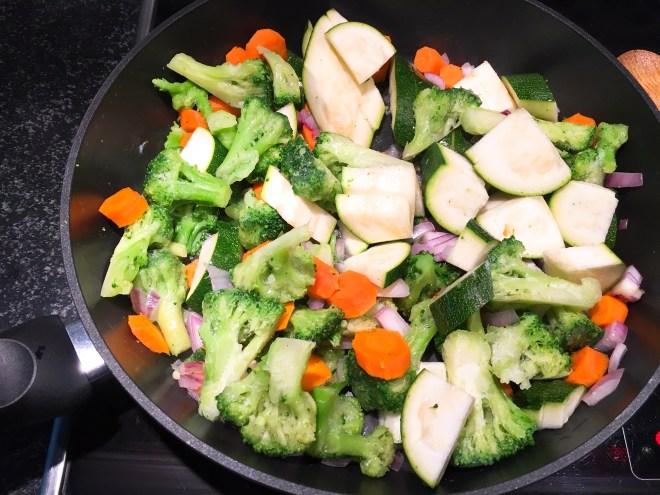 Gemüse asiatisch zubereiten