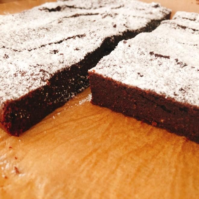 Low Carb Schokoblechkuchen zuckerfrei
