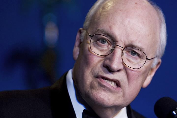 US-Vizepräsident Dick Cheney - einer der Haupttäter der 911-Anschläge