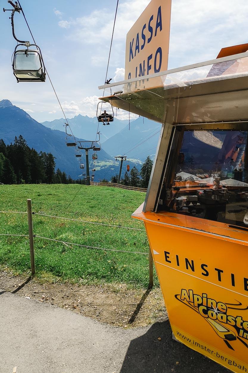 Alpincoaster Hochimst - Sommerrodelbahn Berbahnen Hochimst