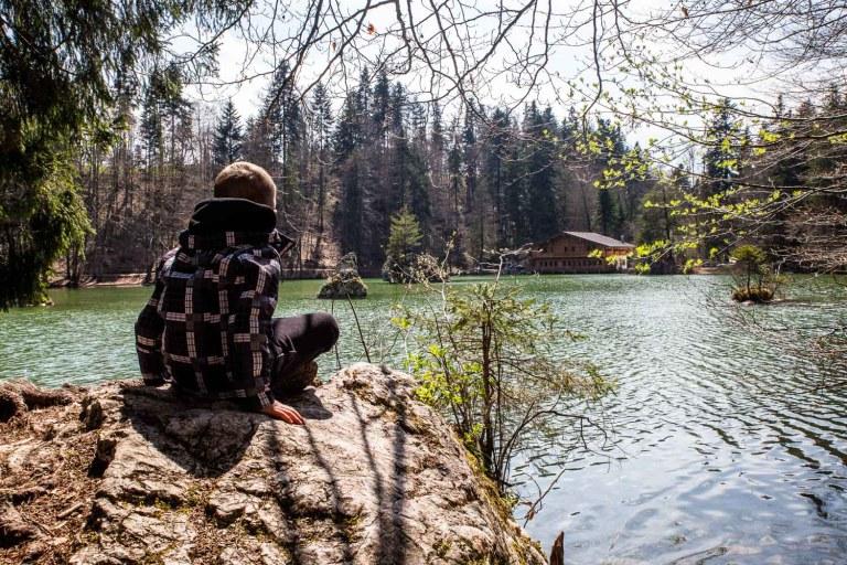 Berglsteiner See mit Kindern – Der leichter lernen Wanderweg