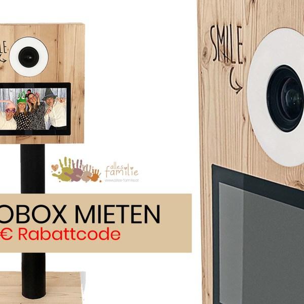 Fotobox mieten für Hochzeit, Kindergeburtstag und Co.