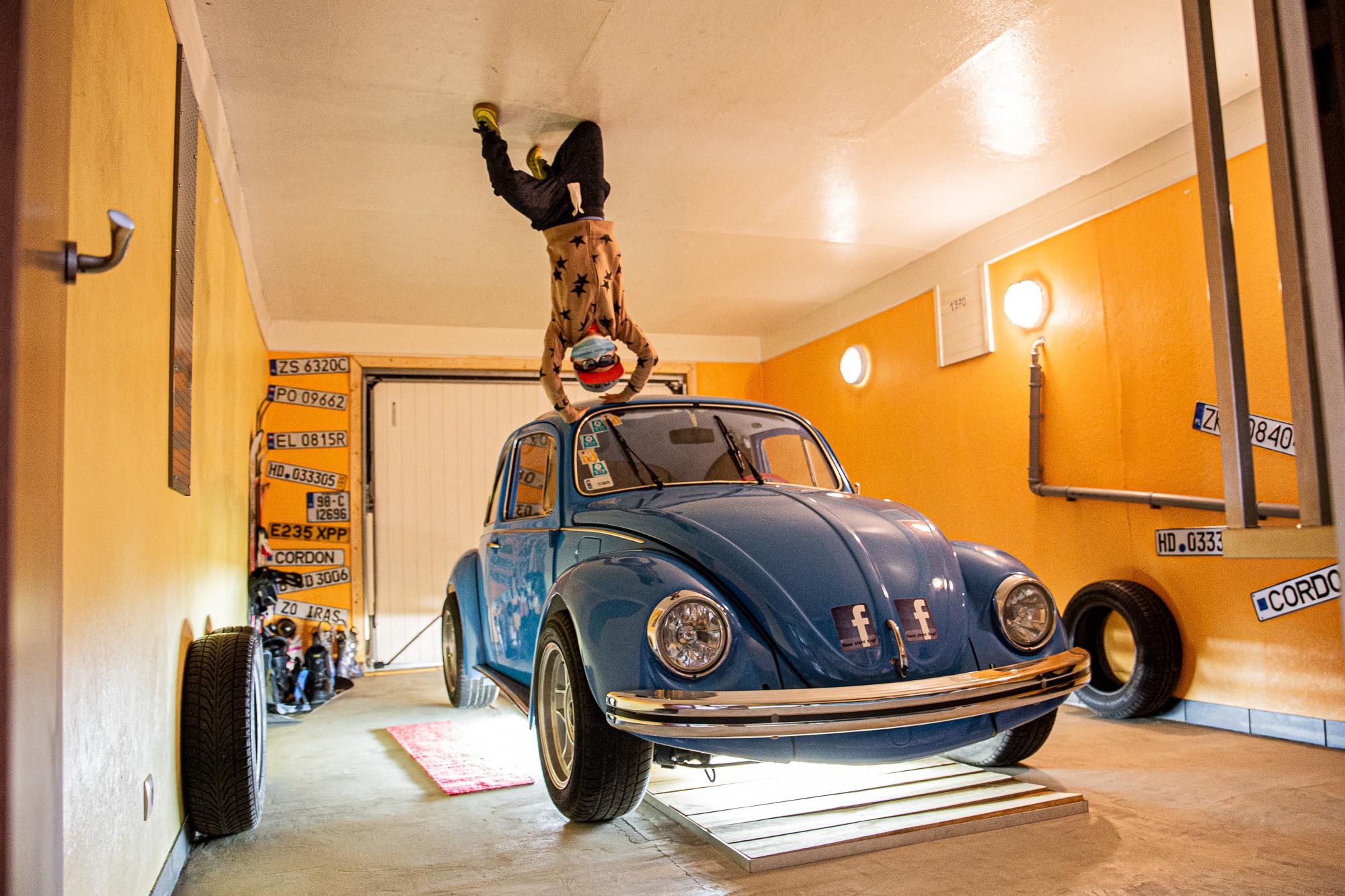 Haus steht Kopf | Vomp | Terfens | Ausflugsziel Tirol | Garage