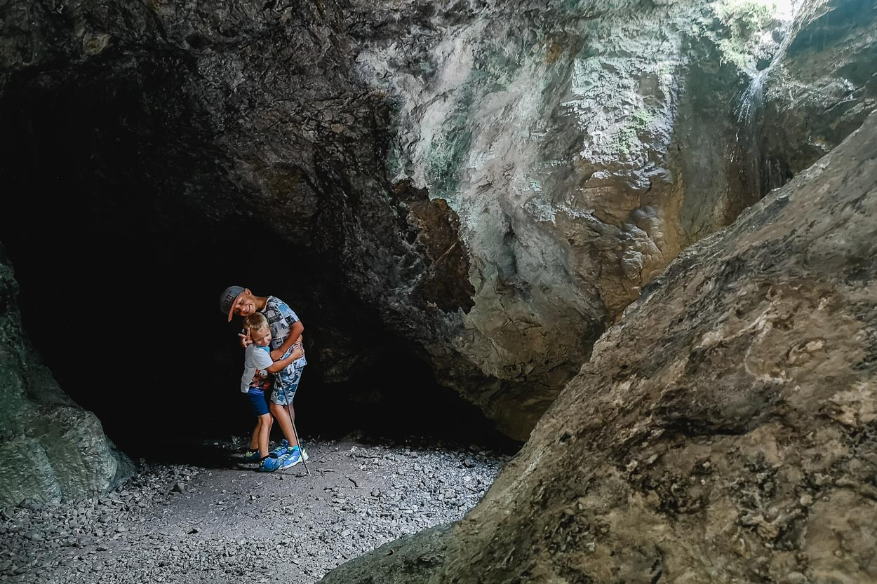 Blaue Grotte Hochimst
