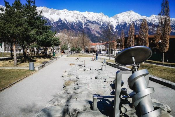 Spielplatz bei Olympiaworld Innsbruck