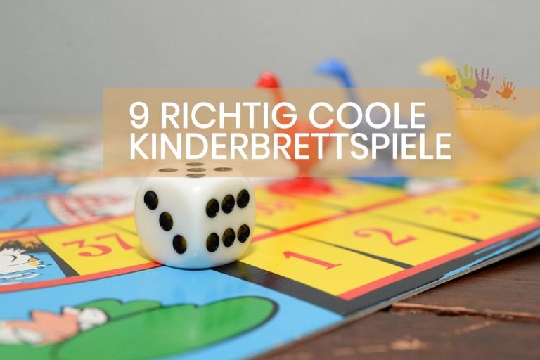 9 richtig tolle Kinderbrettspiele für die Familie