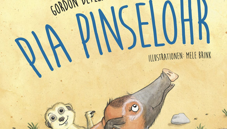 Cover vom Kinderbuch Pia Pinselohr