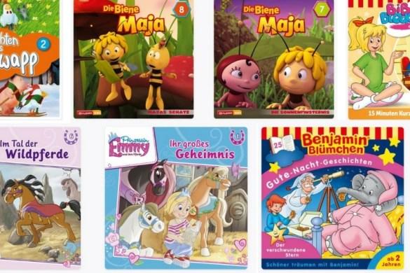 Cover Hörspiele für Kinder