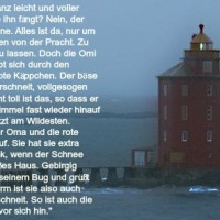 Schreibfluss: Der Leuchtturm {the lighthouse}