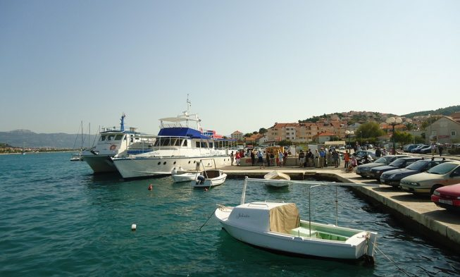 Anreise Zur Insel Ciovo  Infos Kroatien Urlaub Von