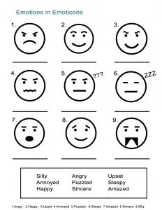 5 Feelings and Emotions Worksheets: Expressing How You