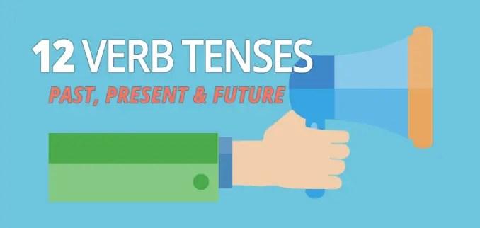 all 12 verb tenses