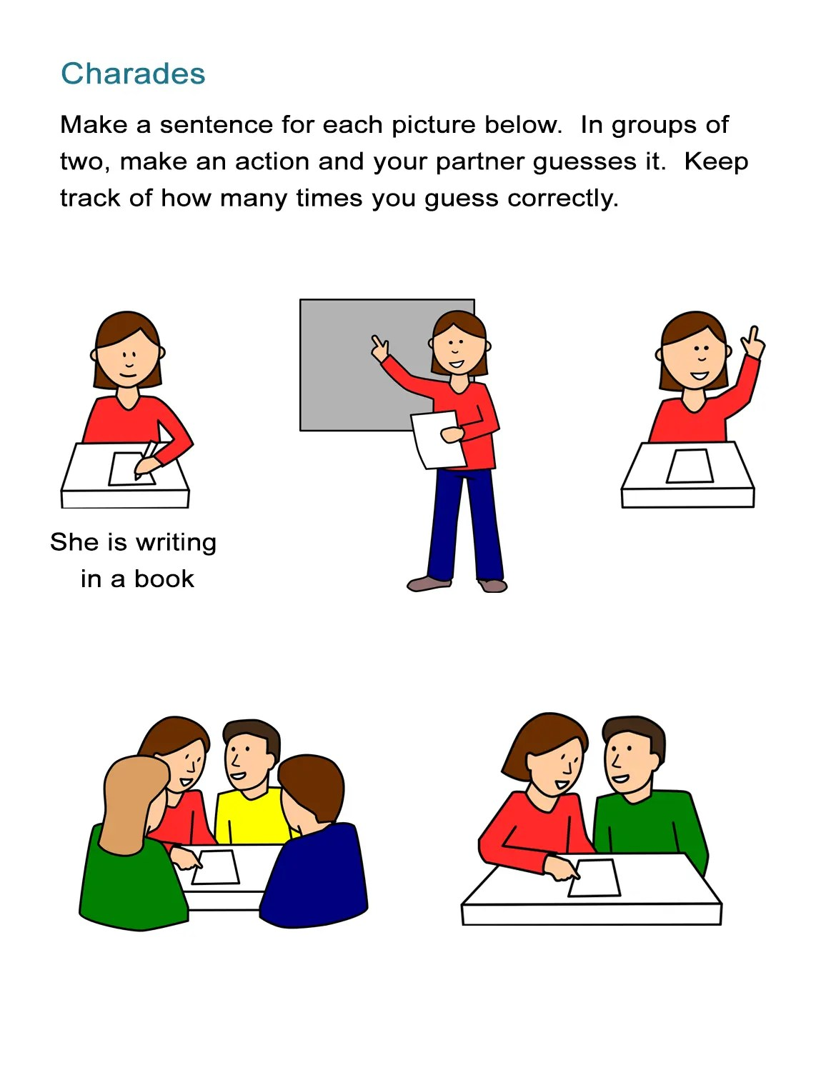 Action Verbs Charades For Kids How To Play Charades