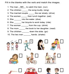 Irregular Past Tense Verbs Worksheet - ALL ESL [ 1505 x 1163 Pixel ]