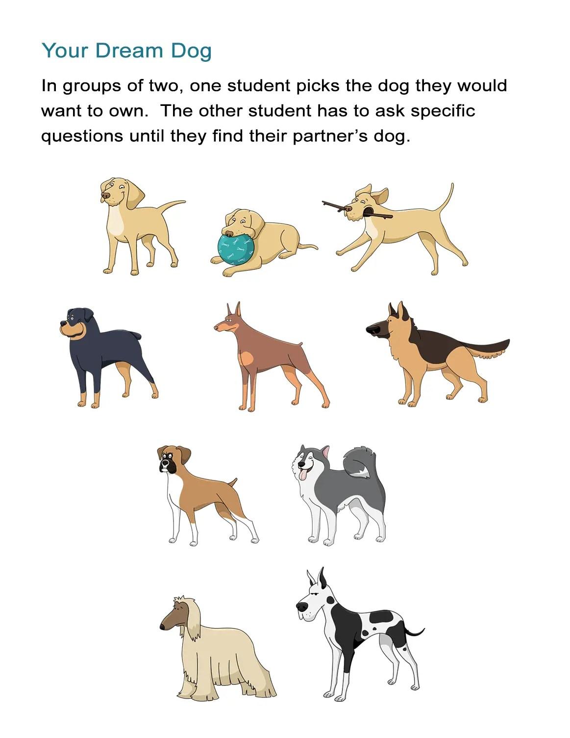 Describe Your Dream Dog