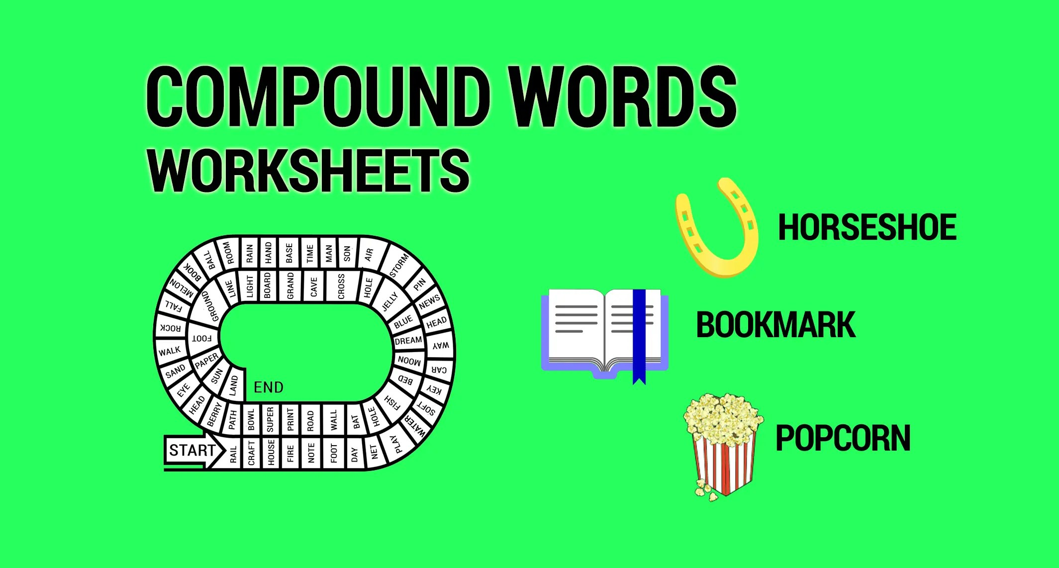 3 Compound Words Worksheets And Activities
