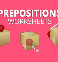 5 Preposition Worksheets for Place [ 1142 x 2129 Pixel ]