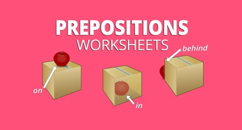 small resolution of 5 Preposition Worksheets for Place