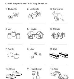 Singular and Plural Nouns Worksheet - ALL ESL [ 1505 x 1163 Pixel ]